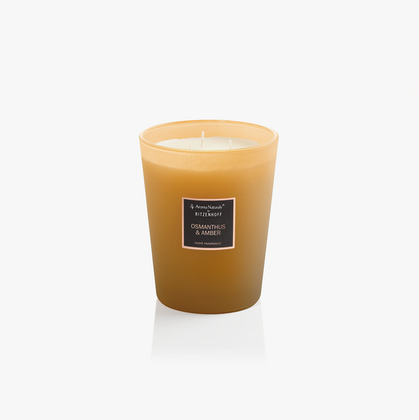 AROMA NATURALS | Selection | Scented Candle | Osmanthus & Amber | 130mm