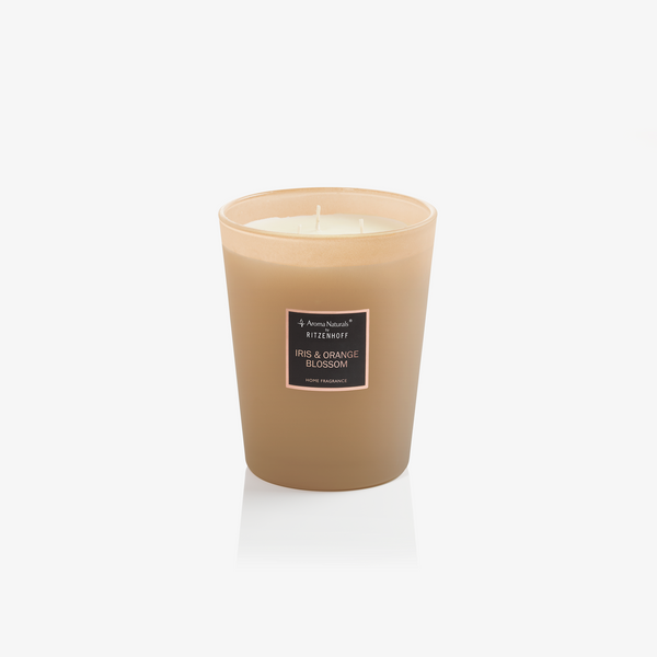 AROMA NATURALS | Selection | Scented Candle | Iris & Orange Blossom | 130mm