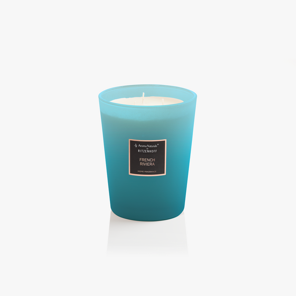 AROMA NATURALS | Selection | Scented Candle | French Riviera | 130mm