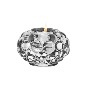ORREFORS | Raspberry Votive | D 92mm