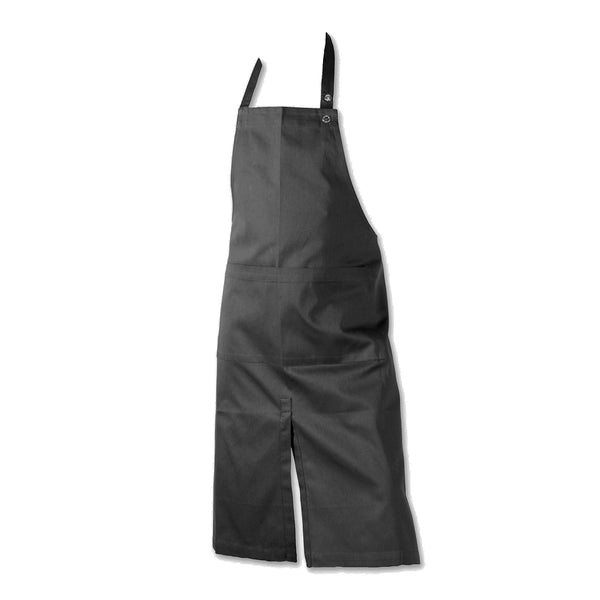 THE ORGANIC COMPANY | Apron with Pocket & Slit | Dark Grey