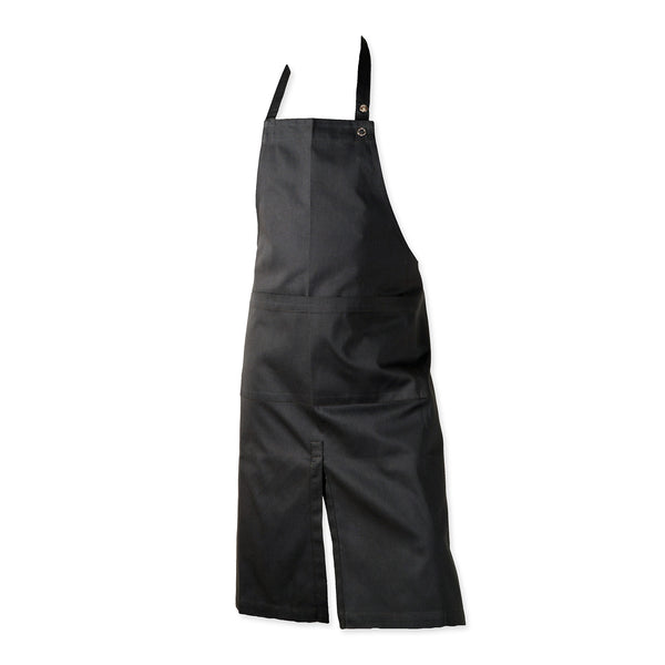 THE ORGANIC COMPANY | Apron with Pocket & Slit | Black