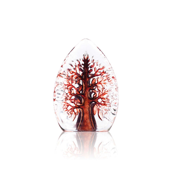 MÅLERÅS | Nordic Icons | Tree of Life Miniature Yggdrasil | Red