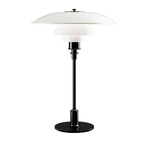 LOUIS POULSEN | PH 3½-2½ Glass Table lamp | Poul Henningsen | Black | Made for you - Available in 2-3 weeks