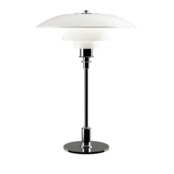 LOUIS POULSEN | PH 3½-2½ Glass Table lamp | Poul Henningsen | Chrome | Made for you - Available in 2-3 weeks