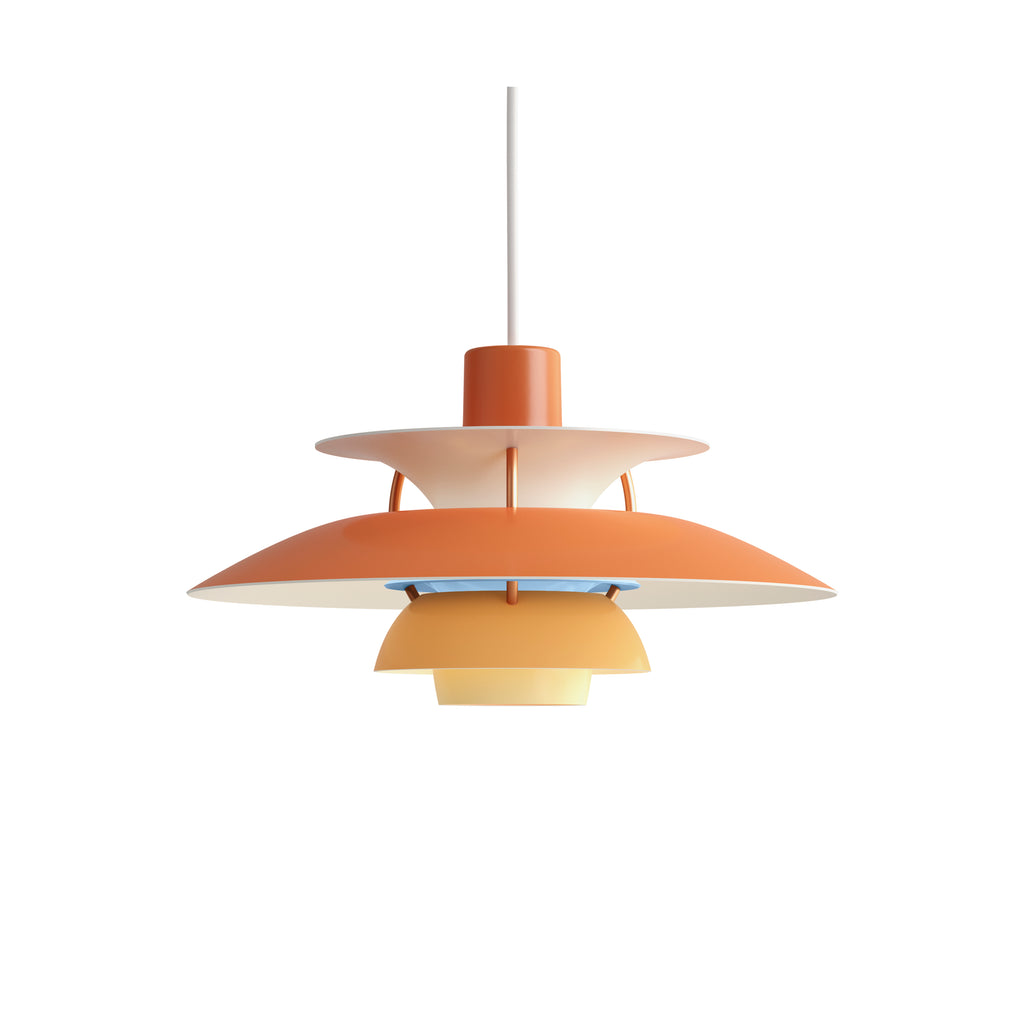 LOUIS POULSEN | PH 5 Mini pendant | Poul Henningsen | Hues of Orange | Made for you - Available in 2-3 weeks