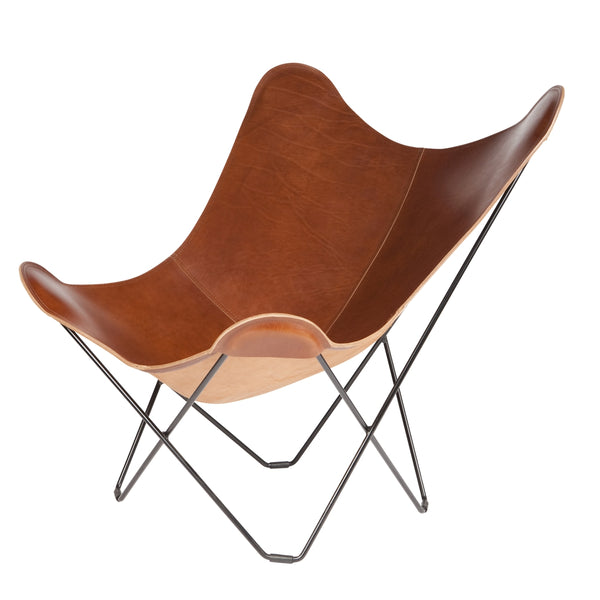 CUERO DESIGN | Pampa Mariposa Butterfly Chair | Montana Leather