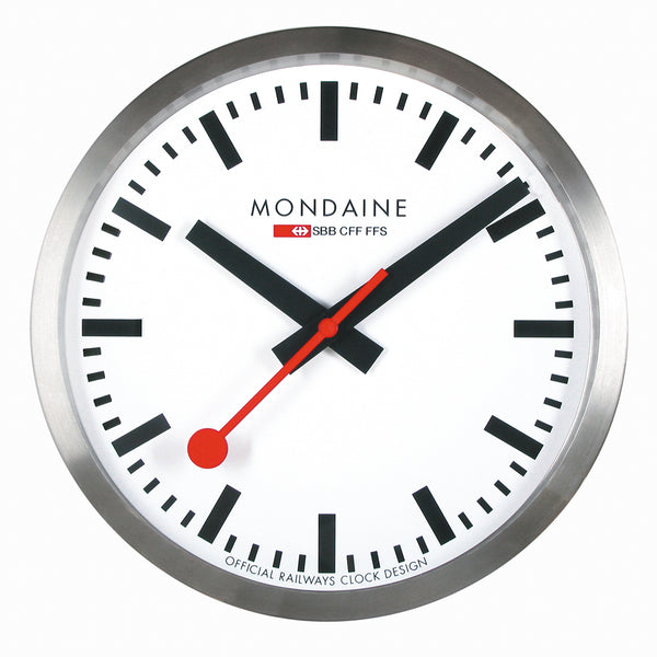 MONDAINE | Swiss Railway Clock | 250mm ⌀