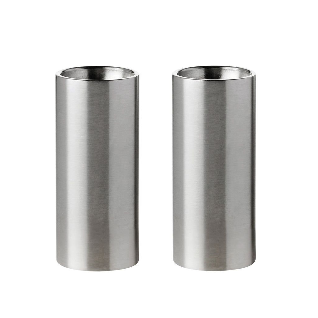 STELTON | Arne Jacobsen | Cylinda-line | Salt and Pepper Shakers