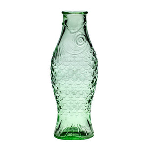 SERAX | Paola Navone | Fish&Fish | 1l Bottle | Transparent Green