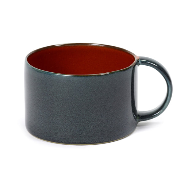 SERAX | Terres De Rêves | Coffee Cup | Dark Blue/Rust