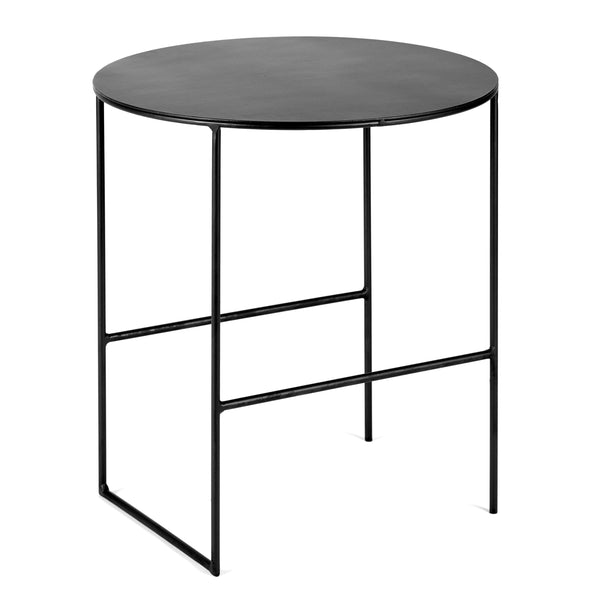 SERAX | Antonino Sciortino | Side Table | Cico | Black | 40cm Dia