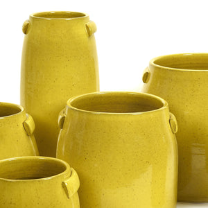 SERAX | Flower Pot | Yellow | Medium