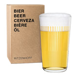 RITZENHOFF | The Next 25 Years | Beer Glass | Piero Lissoni