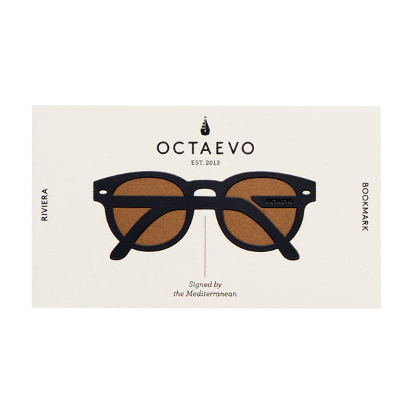 OCTAEVO | Bookmark | Riviera | Black