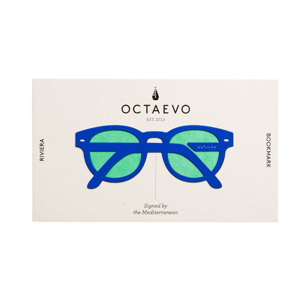 OCTAEVO | Bookmark | Riviera | Blue