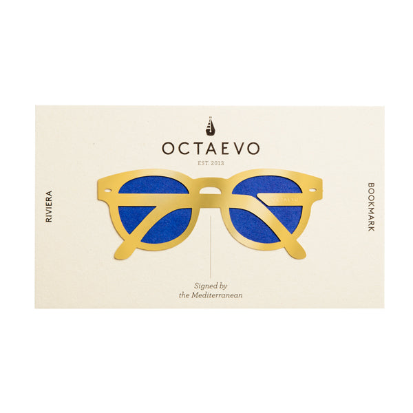 OCTAEVO | Bookmark | Riviera | Brass