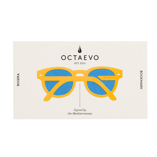 OCTAEVO | Bookmark | Riviera | Yellow