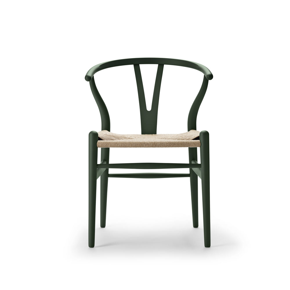 CARL HANSEN & SØN | HANS J. WEGNER | SPECIAL EDITION CH24 I Wishbone Chair | SOFT Green | Available in 3 weeks.