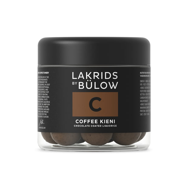 LAKRIDS | Johan Bülow | C | Dark & coffee choc-coated liquorice | 125g