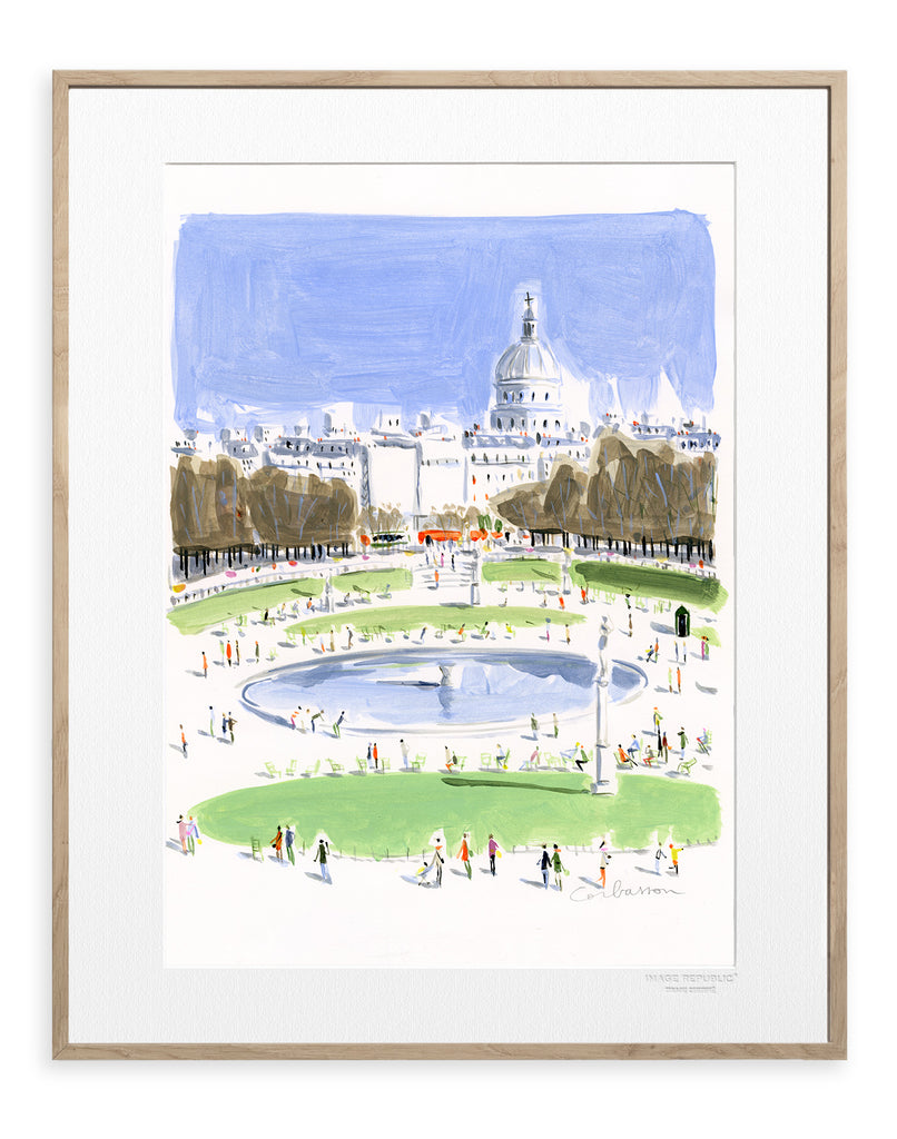 IMAGE REPUBLIC | Dominique Corbasson | Paris Luxembourg Jardin | 40x50cm