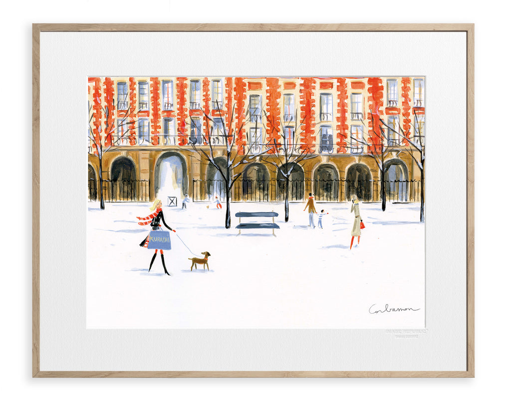 IMAGE REPUBLIC | Dominique Corbasson | Paris Place Des Vosges | 50x40cm