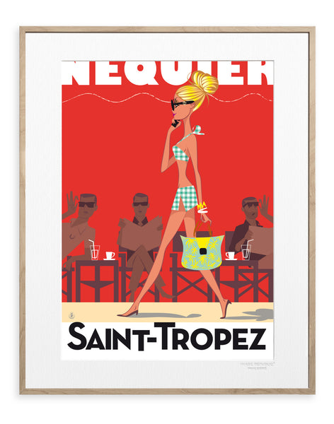 IMAGE REPUBLIC | Monsieur Z | Saint Tropez | 40x50cm