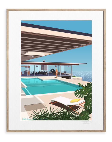 IMAGE REPUBLIC | Paolo Mariotti | Stahl House | 40x50cm