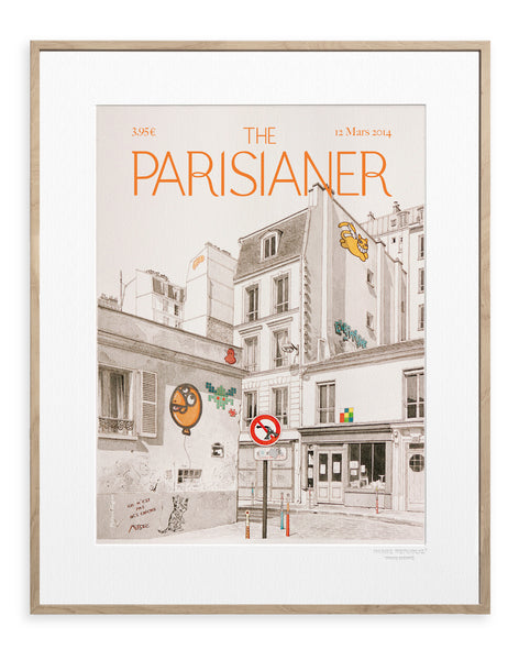 IMAGE REPUBLIC | The Parisianer | Mignon | 40x50cm