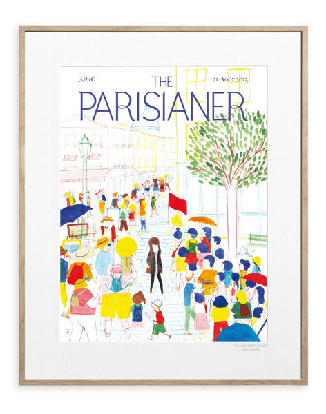 IMAGE REPUBLIC | The Parisianer | Aki | 40x50cm