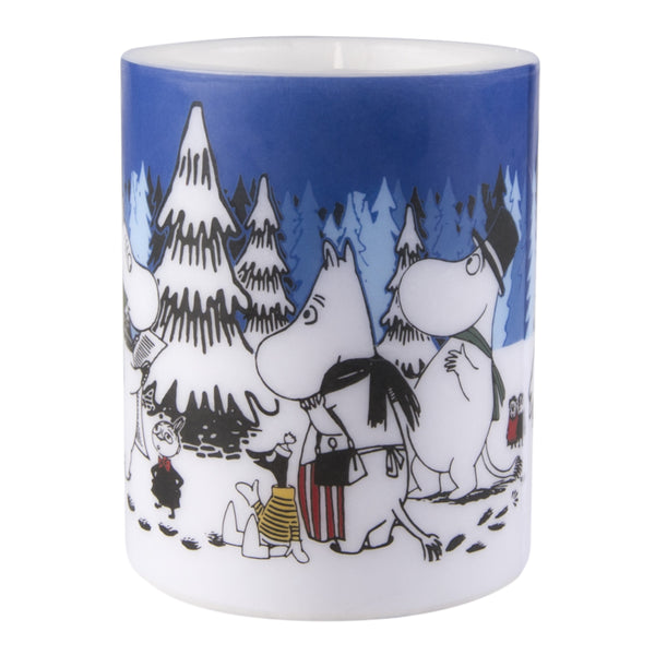 MUURLA | Moomin | Winter | Candle | Winter Forest | 12cm