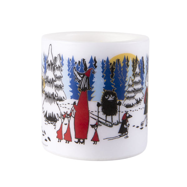 MUURLA | Moomin | Winter | Candle | Winter Forest | 8cm