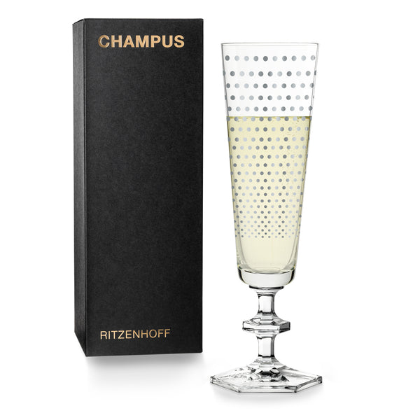 RITZENHOFF | The Next 25 Years  | Champagne Glass | Noe Duchaufour-Laurence