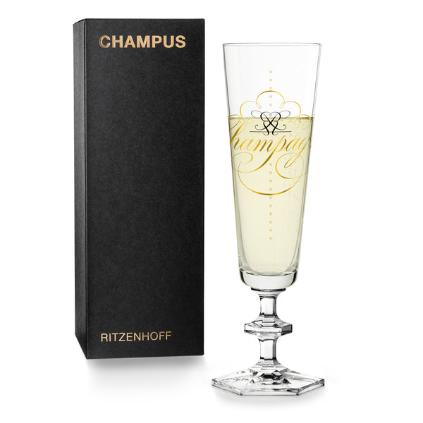 RITZENHOFF | The Next 25 Years  | Champagne Glass | Peter Horridge