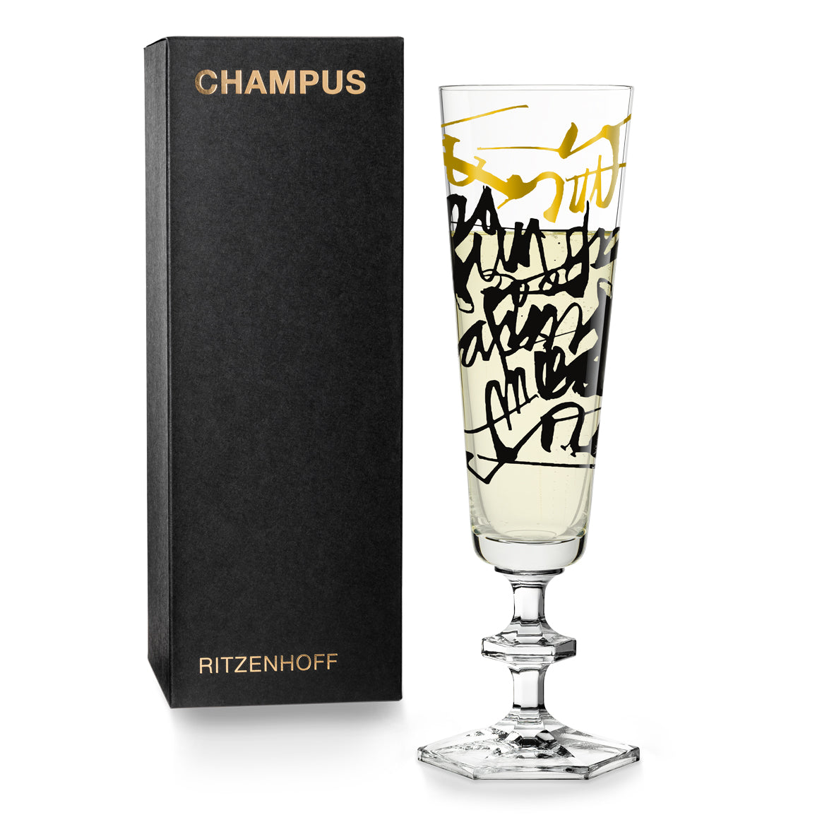 RITZENHOFF | The Next 25 Years  | Champagne Glass | Nerodiseppia Creative Studio