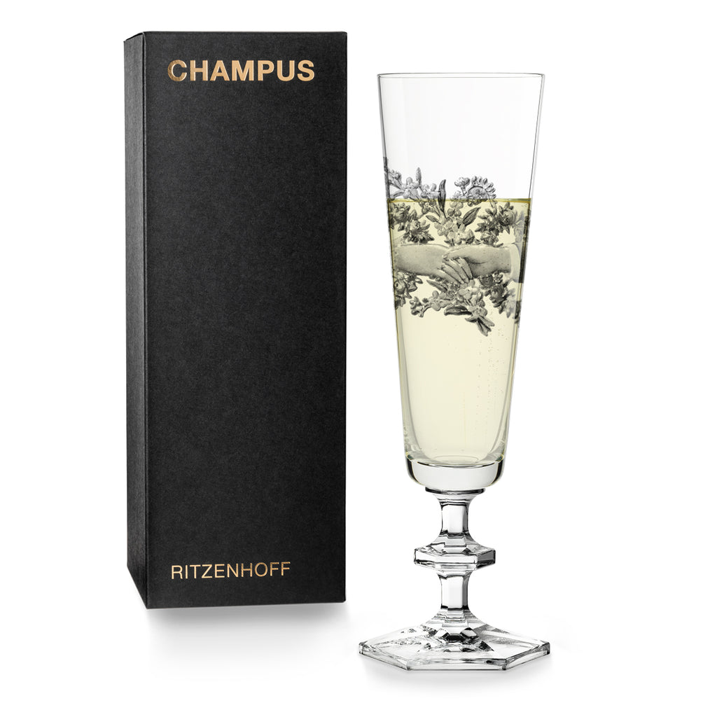 RITZENHOFF | The Next 25 Years  | Champagne Glass | Marlies Plank