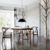 CARL HANSEN & SØN | CH337 Dining Table (extendable) | Hans J. Wegner | Available in 8 weeks*