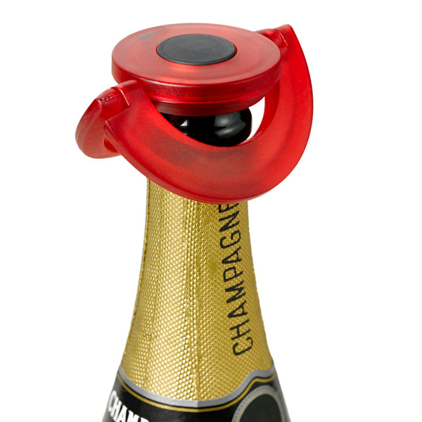 AD HOC | Champagne Stopper | Gusto | Red