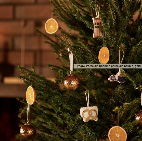 Lyngby Porcelain Rhome Decoration Bauble