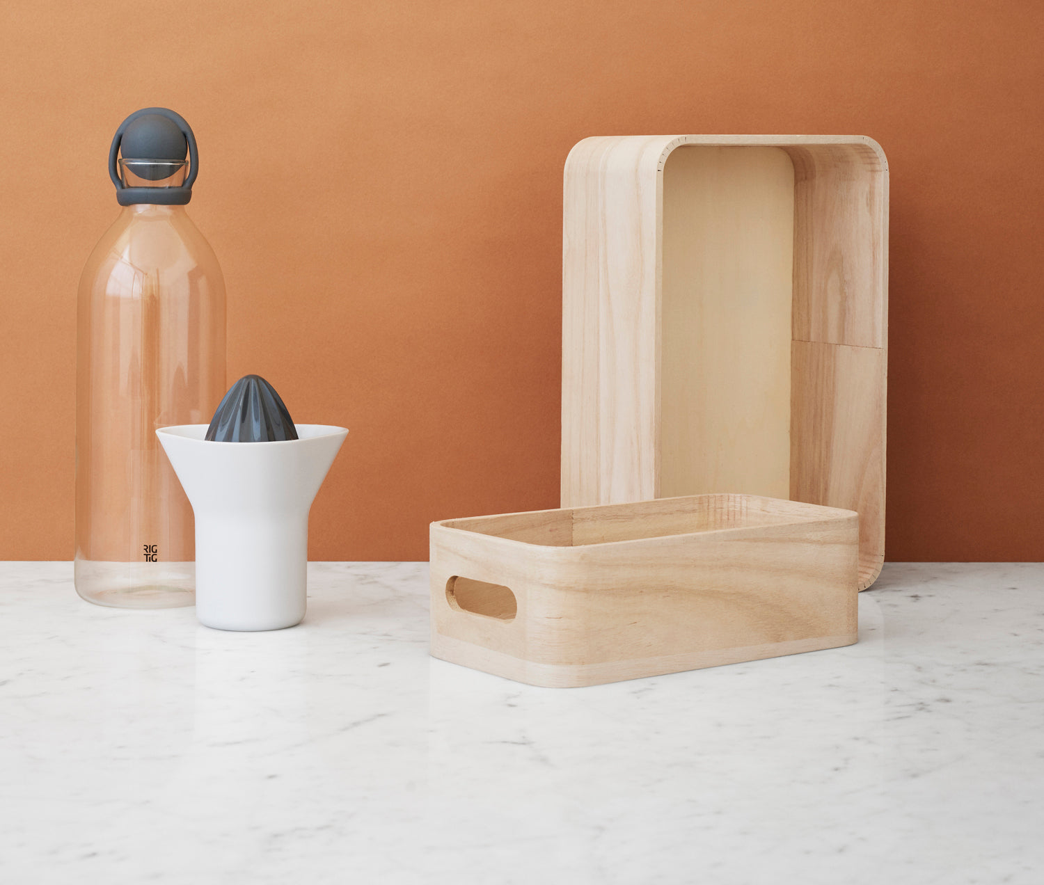 RIG-TIG | Cool-It | Water carafe | 1.5L | Terracotta