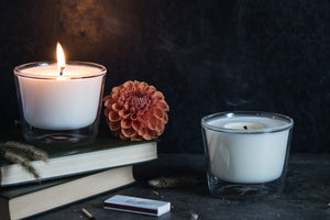 madetostay | Lumina Sentire Scented Candle | The Blue Room