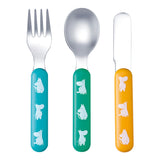 PETIT JOUR PARIS | Moomin | 3-Piece Cutlery Set