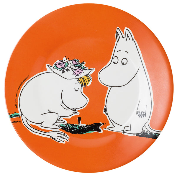 PETIT JOUR PARIS | Moomin | Side Plate | Orange