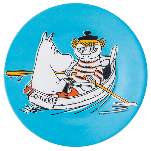 PETIT JOUR PARIS | Moomin | Side Plate | Light Blue