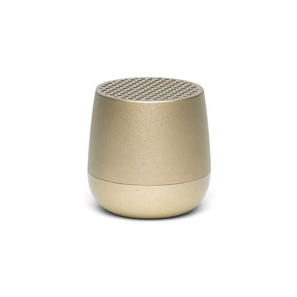 LEXON | Mino | Portable Bluetooth Speaker | Light Gold