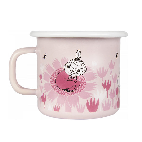 MUURLA | Moomin | Girls - Moomin in the Garden | Enamel Mug | 2.5dl