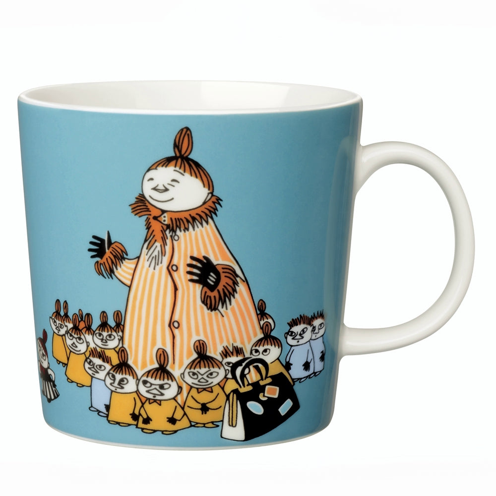 ARABIA | Moomin | 75th Anniversary Classic Porcelain Mug | Mymble's Mother | 30cl