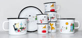 MUURLA | Moomin | Colors | Enamel Mug | Little My | 3.7dl