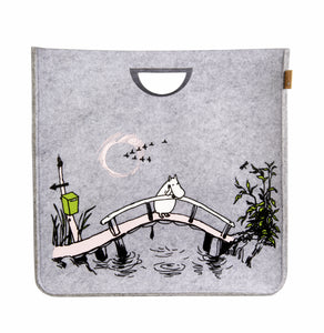 MUURLA | Originals | Felt Storage Basket | Missing You | 40cm x 40cm x 40cm