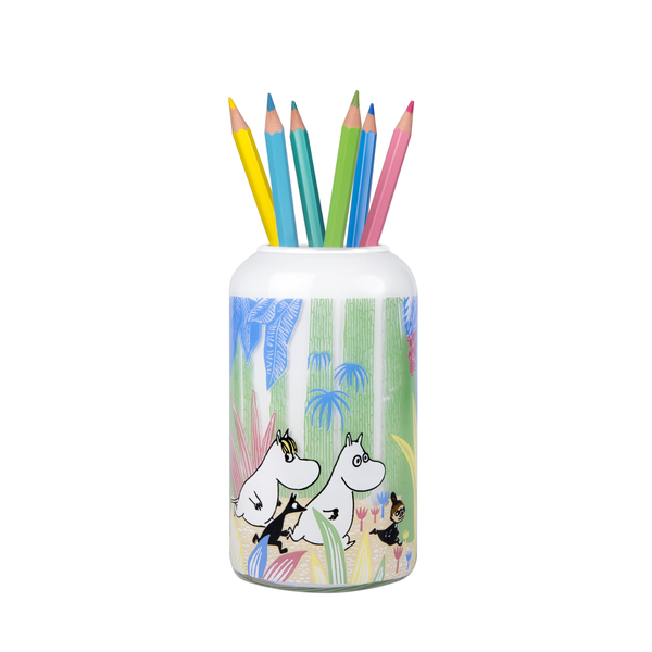 MUURLA | Moomin | Moomins in the Jungle | Small Vase | 12cm